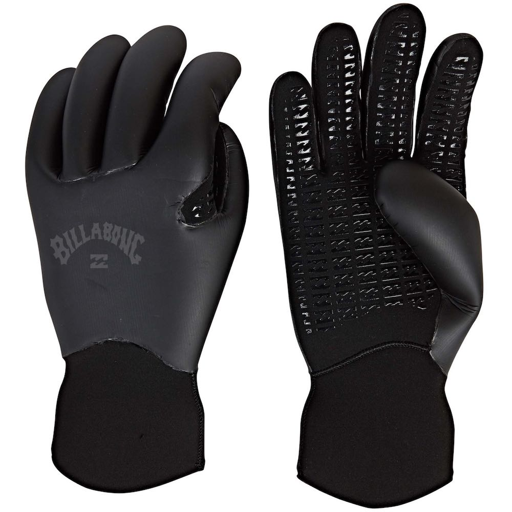 Billabong Furnace Ultra Carbon Wetsuit Gloves 3mm 5mm 7mm warm winter surfing uk south coast devon cornwall wales scotland europe christmas birthday present gift idea surf surfer 2019 2020 new range graphene inner lining liner