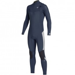 Billabong 2020 5/4mm Kids Furnace Absolute Chest Zip Wetsuit cold water surfing uk isle of wight junior grom keep warm devon cornwall wales scotland uk europe surf club