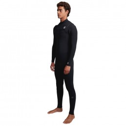 Billabong Furnace Comp 5/4mm Chest Zip Westuit. Winter surfing Isle of Wight UK 5mm warm warmest graphene + liner lining