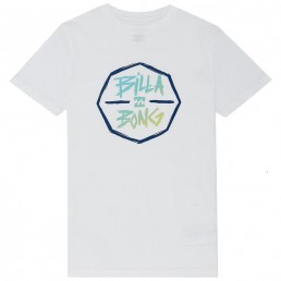 Boys Billabong Octo Tshirt Turquoise aqua blue little surfer dude 50 learn to surf isle of wight uk