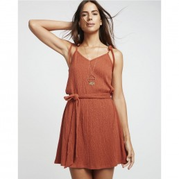 Billabong Going Steady Dress Black Henna tie straps belt stretch woven flattering boho smart casual pretty spring summer holiday beach dinner date v neck young fun happy sandy surf surfer girl island vibes