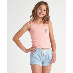 Billabong Saguaro Cactus print vest tank pink haze tshirt surfer girls teens