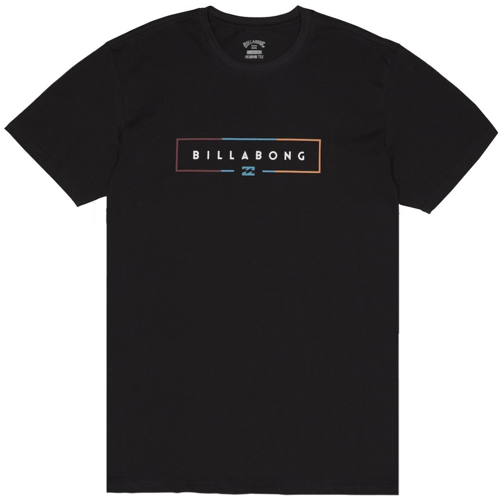 Billabong T-shirt black core fit