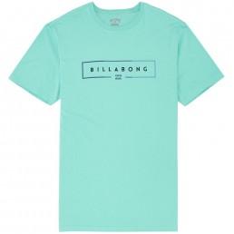 Billabong T-shirt green blue core fit