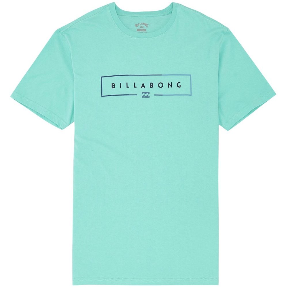 Billabong T-shirt green blue core fit