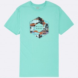Billabong X-Cess Tshirt Excess Access Aqua Turquoise Blue White Navy Black Heather Grey