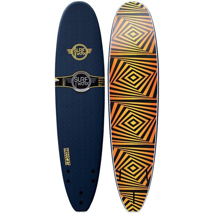 8'0 Mini Mal Soft Foam Surfboard 8ft. Learn to surf Isle of Wight IOW. Beginner intermediate progression
