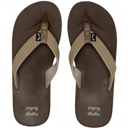 Billabong All Day Casual Flip Flops Dark Brown