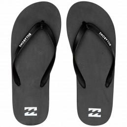 Billabong Tides Solid Flip Flops Black Aqua Dark Indigo