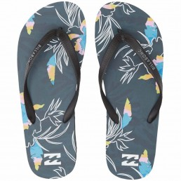 Billabong Tides Sunday Navy Blue Floral Tropical Mens beach holiday summer isle of wight Earth Wind Water surf gear