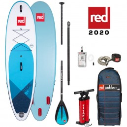 Red Paddle Co 9'8 Ride SUP Stand Up Paddle board package deal new 2020 paddleboard paddling world's best isle of wight south coast iow uk earth wind water alloy carbon 50 100 nylon