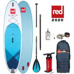 Red Paddle Co 10'8 Ride SUP Stand Up Paddle board package deal new 2020 paddleboard paddling world's best isle of wight south coast iow uk earth wind water alloy carbon 50 100 nylon