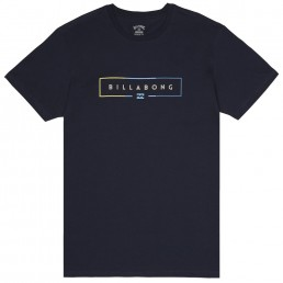 Billabong T-shirt navy blue core fit
