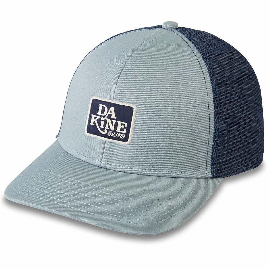 Dakine DK Classic Logo Trucker Hat Lead blue mens womens unisex mesh snap back
