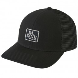 Dakine DK Classic Logo Trucker Hat mens womens unisex all black mesh snap back