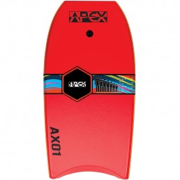 Apex Bodyboard Red Orange. Alder Hoax