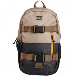 Billabong Command Skate Pack Backpack rucksack bag luggage skateboard surfing straps folder sport gym holdall khaki brown black grey
