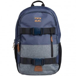 Billabong Command Skate Pack Backpack rucksack bag skateboard surfing luggage folder sport gym holiday straps blue navy grey black