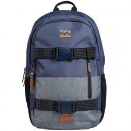 Billabong Command Skate Pack Backpack rucksack bag skateboard surfing luggage folder sport gym holiday straps blue navy grey black