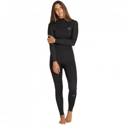 billabong furnace synergy 2020 new black pattern back zip Ladies womens girls spring summer wetsuit surf surfing 3/2 3 2mm cool flattering best fit flexible graphene