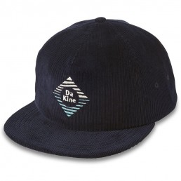Da Kine DK Dakine Geo Flash Ballcap Nightsky. Dark navy blue corduroy retro modern style cap hat mens womens unisex. Surfing heritage Isle of Wight learn to surf IOW Earth Wind Water