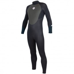 Alder Stealth Junior Wetsuit 5/4/3mm neoprene full winter spring autumn kids sea beach keep warm gbs watersports surf sup blue turquoise black slate grey charcoal best isle of wight iow kayak shop