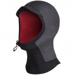 CSkins Legend Neoprene Hood 2.5mm with adjustable cinch cord. Isle of Wight surfing, cold water winter surf
