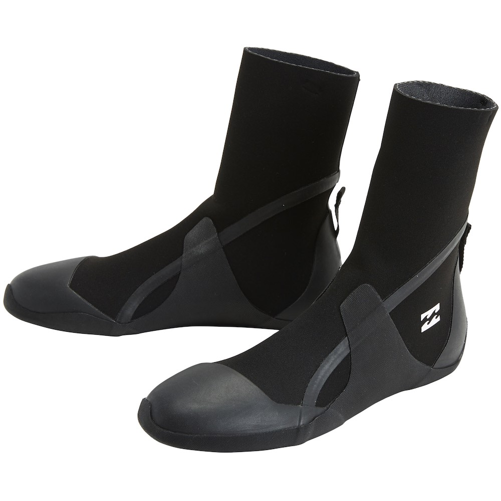 Billabong neoprene wetsuit boots 5mm round toe boot. Earth Wind Water, Isle of Wight