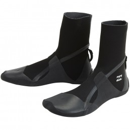 Billabong neoprene wetsuit boots 5mm split toe