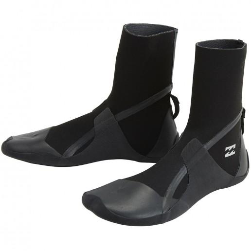 Billabong neoprene wetsuit boots 5mm split toe