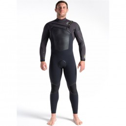 CSkins 2021 5/4mm Wired Winter Steamer Wetsuit. Warm, flexible, Halo X RD8 Neoprene. Cold water surfing Isle of Wight. Earth Wind Water