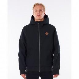 Rip Curl waterproof mens jacket black. Anti series