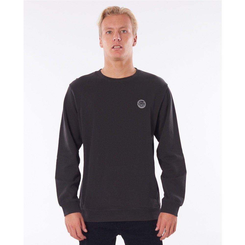 Rip Curl Original Surfer Hoody Black crew sweater, sweatshirt, jumper