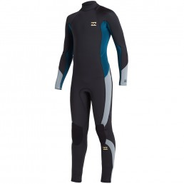Billabong Kids 5/4 winter wetsuit. Junior, grom, surf neoprene steamer