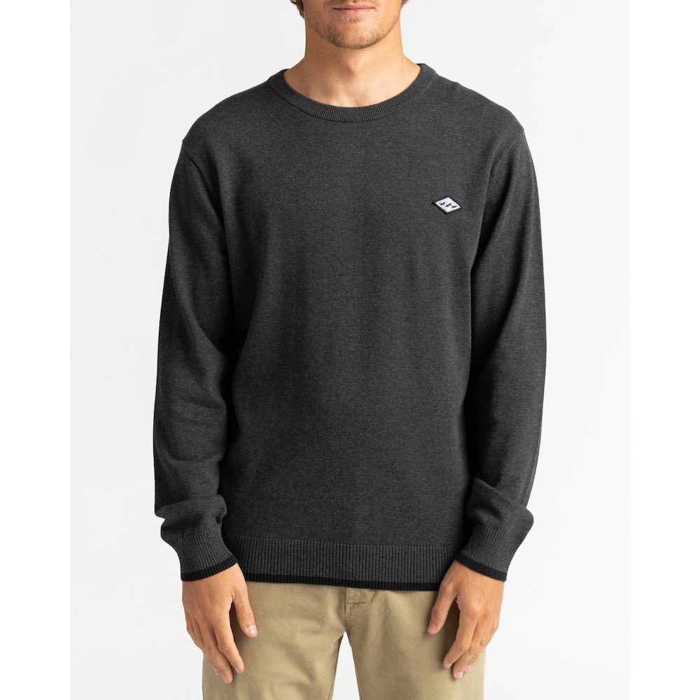 Billabong All Day Sweatshirt black navy, clothing for surfers, surf shop isle of wight