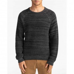 Billabong Broke Sweater. Navy Grey. Mens knitted jumper