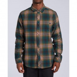 Billabong Coast line Checked Shirt. Surf Surfers