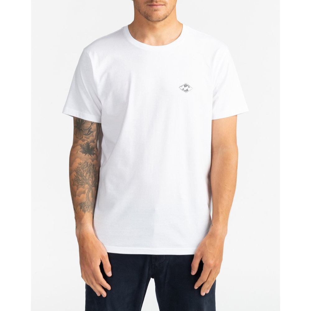 Billabong surf report tshirt. mens white tee